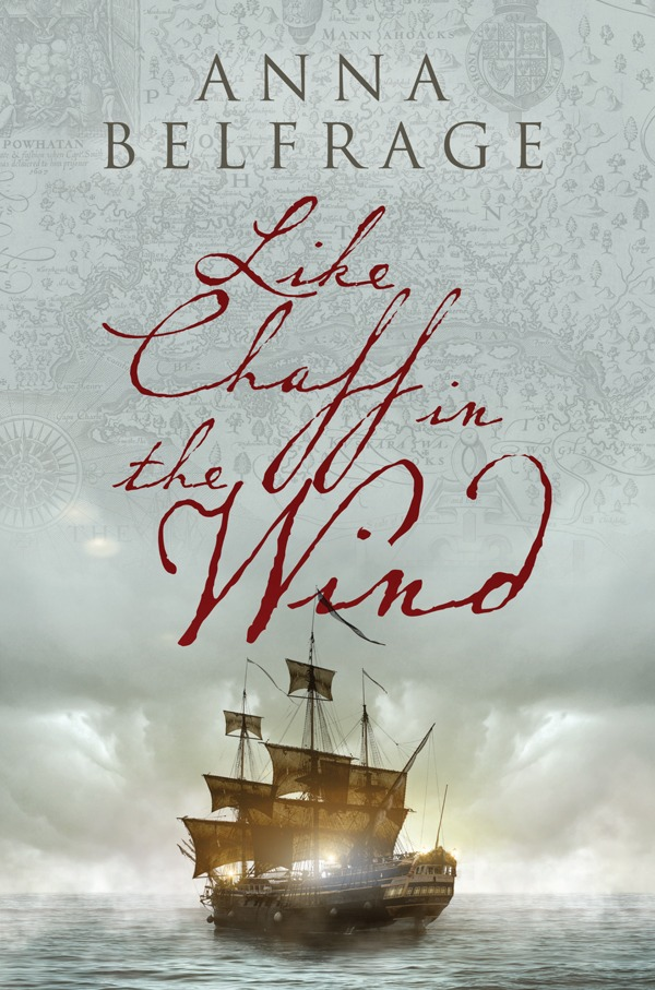 Like Chaff in the Wind by Anna Belfrage, cover
