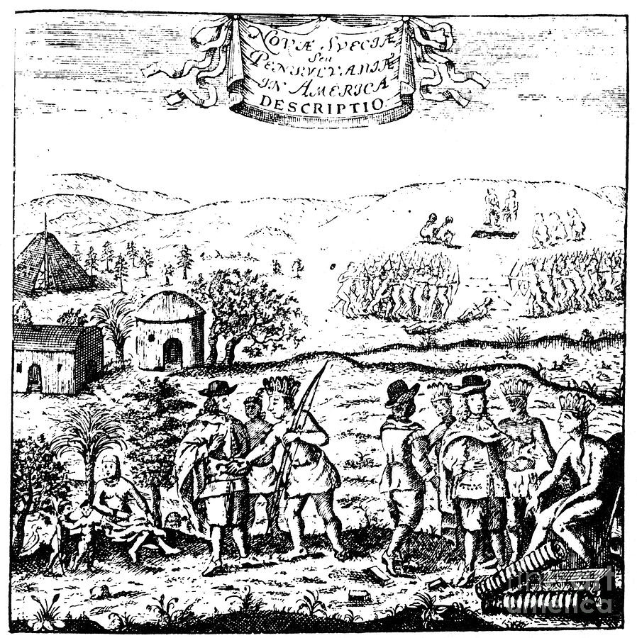 swedish-colonists--native-americans-granger