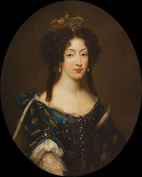 480px-Marie_Louise_d'Orléans_by_Mignard_wearing_Marie Louise d'Orleans