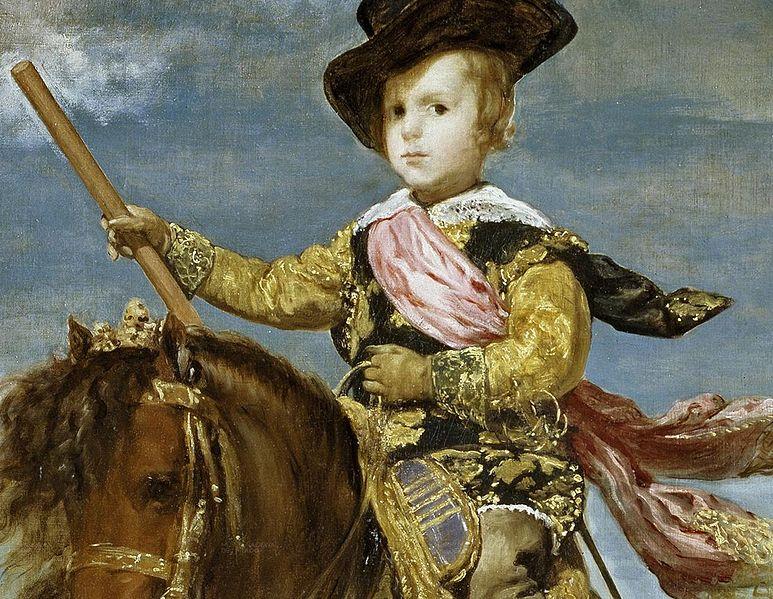 773px-Principe_Baltasar_Carlos_a_caballo_Velazquez_detail