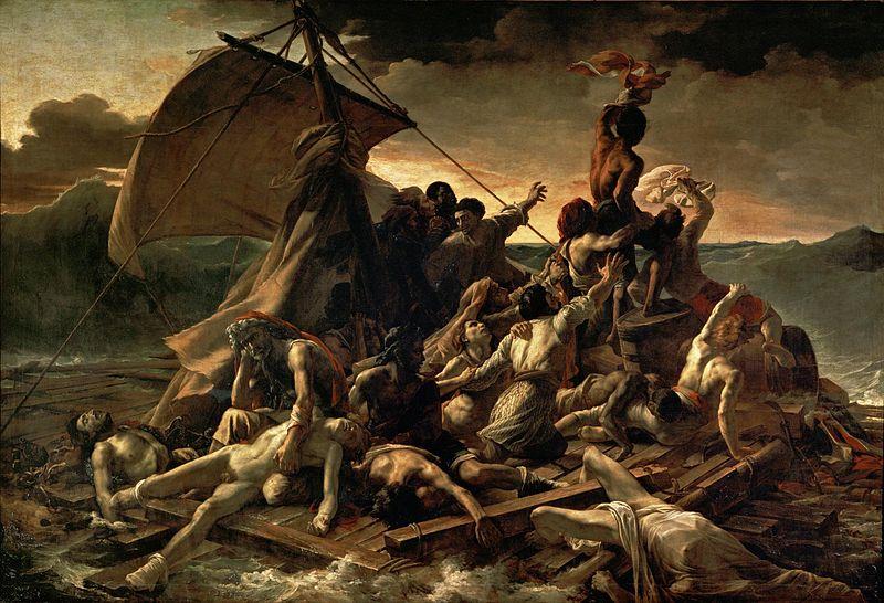 800px-JEAN_LOUIS_THÉODORE_GÉRICAULT_-_La_Balsa_de_la_Medusa_(Museo_del_Louvre,_1818-19)
