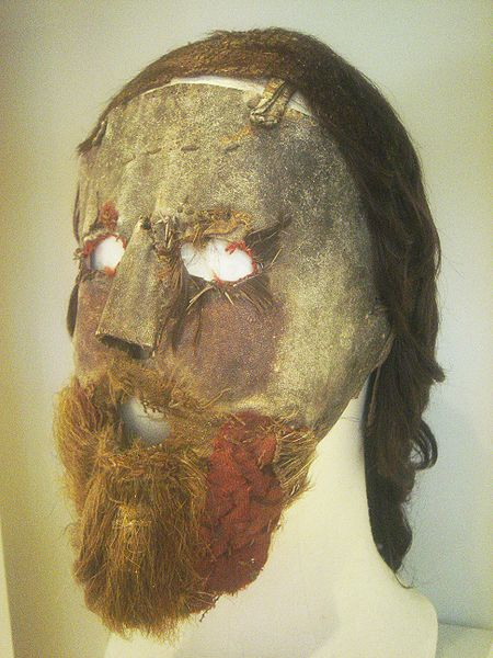 Alexander Peden mask