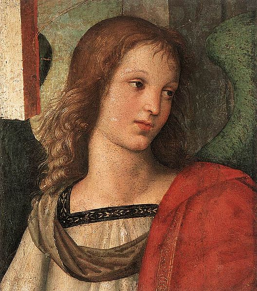 528px-Raffaello_Sanzio_-_Angel_(fragment_of_the_Baronci_Altarpiece)_-_WGA18605