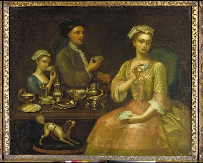 Richard-Collins-A-Family-of-Three-at-Tea-1727