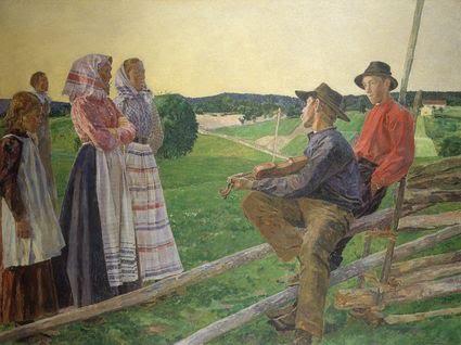 Carl Wilhelmson (1866-1928)-juniaftenVärmland1902