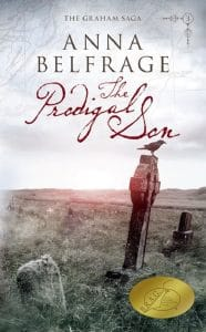 The Prodigal Son by Anna Belfrage, cover