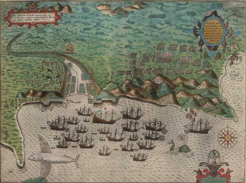 santo-domingo-pirate-map-drakes-voyage