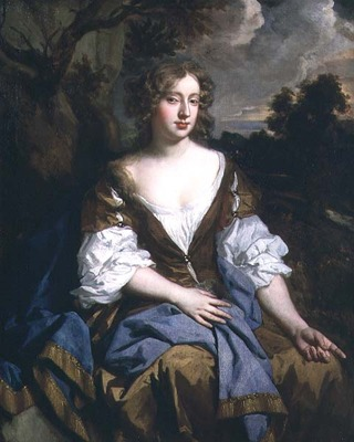 Moll Davis by Lely, pointing
