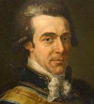 Axel von Fersen, porträtt av Peter Dreuillon. Bild: Lars Ekelund/Östergötlands museum