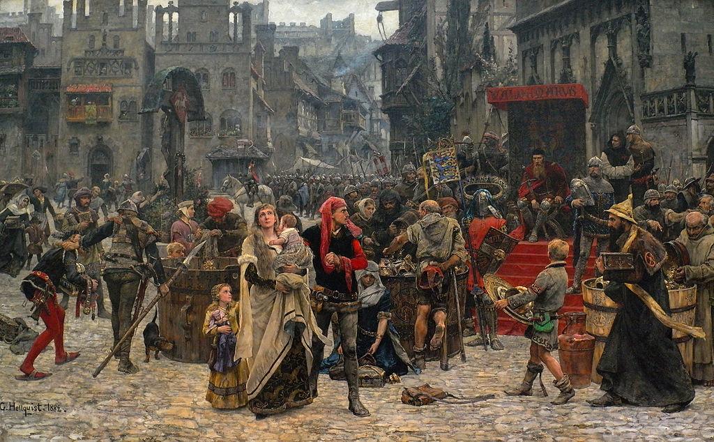 Valdemar_Atterdag_brandskattar_Visby_(1882)