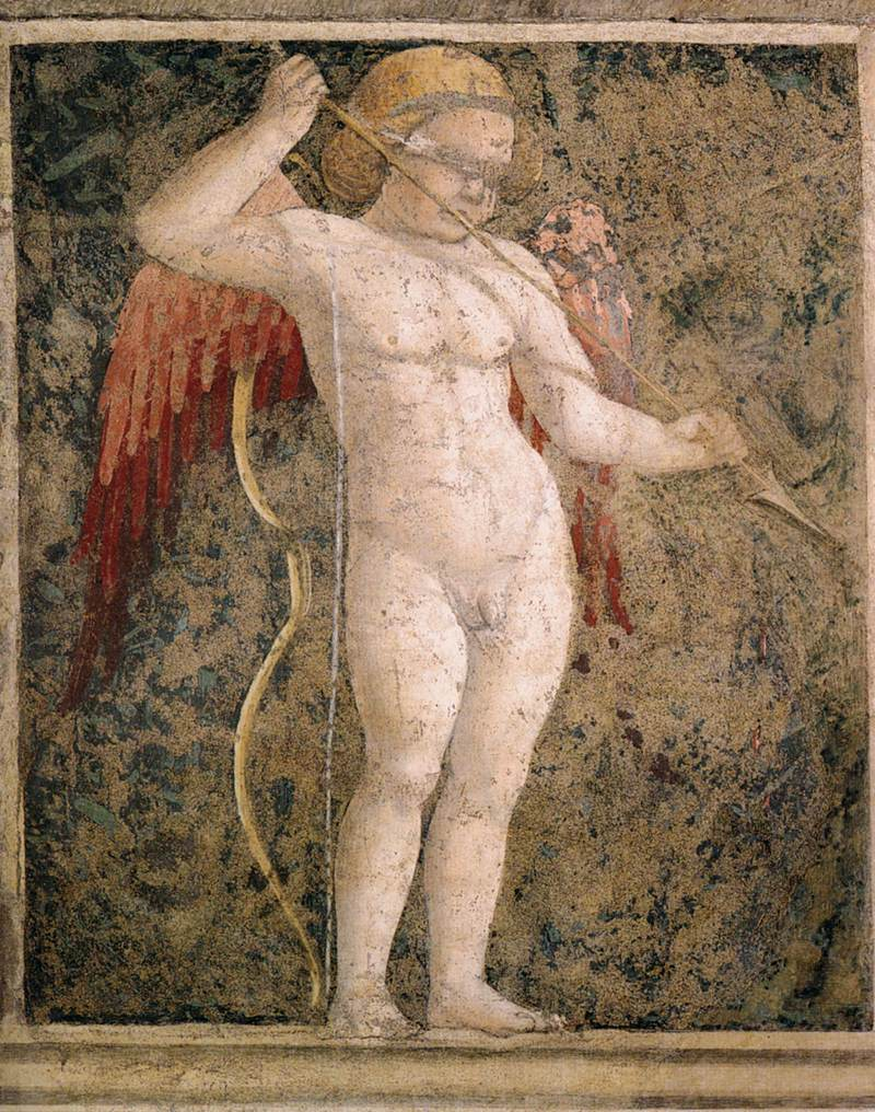 Cupid Piero_della_Francesca_-_Cupid_Blindfolded_-_WGA17587