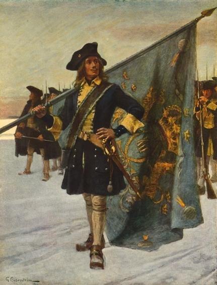 Ulrika Eleonora svensk soldat