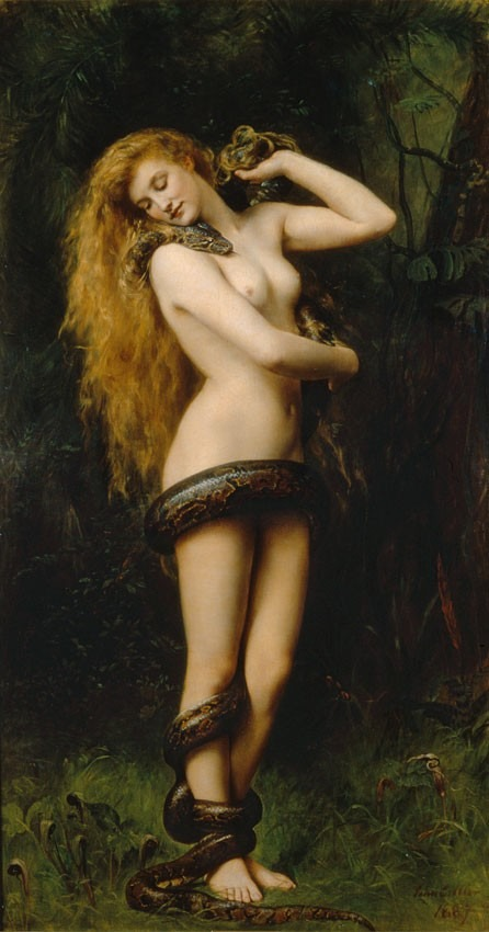 Eve Lilith_(John_Collier_painting)