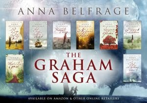 The Graham Saga, historical novel series by Anna Belfrage