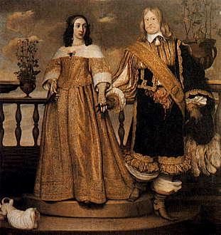 Magnus_Gabriel_De_la_Gardie_med_makan_Maria_Eufrosyne,_målning_av_Hendrik_Münnichhoven_från_1653