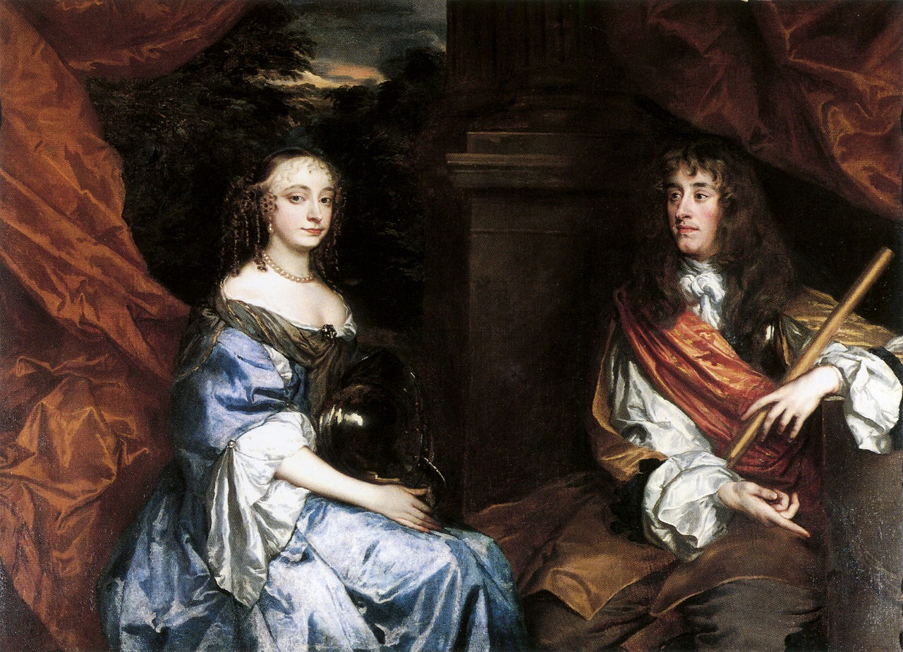 EHFA James_II_and_Anne_Hyde_by_Sir_Peter_Lely