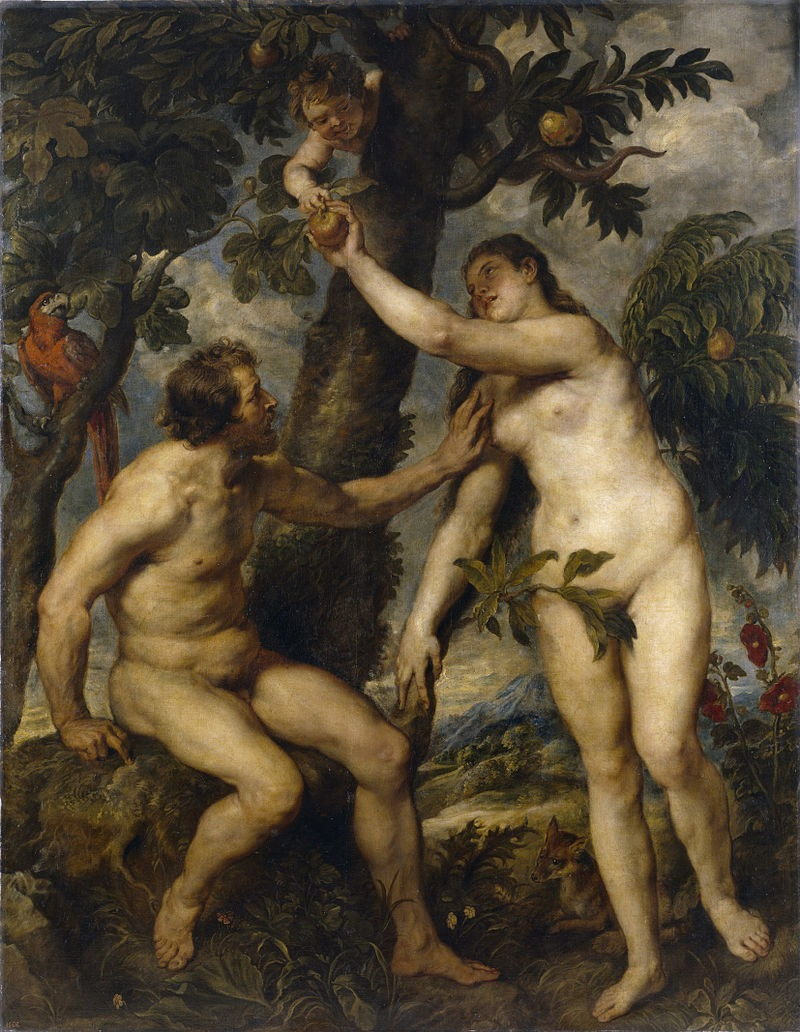 Adam and Eve Peter_Paul_Rubens_004
