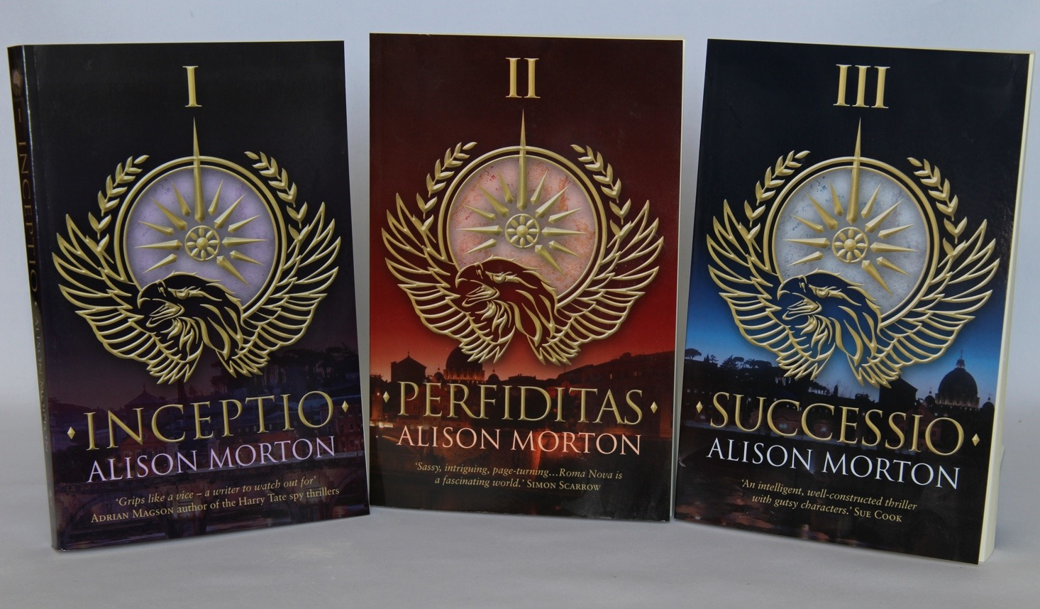 RomaNova books