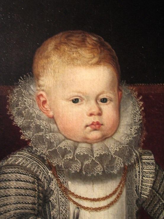 Bartolomé González y Serrano (1564–1627), Alfonso, the son of Philip III of Spain