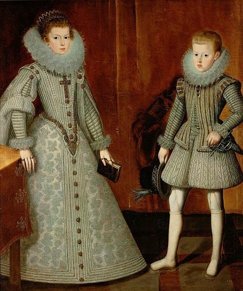 Felipe IV and Maria Anna