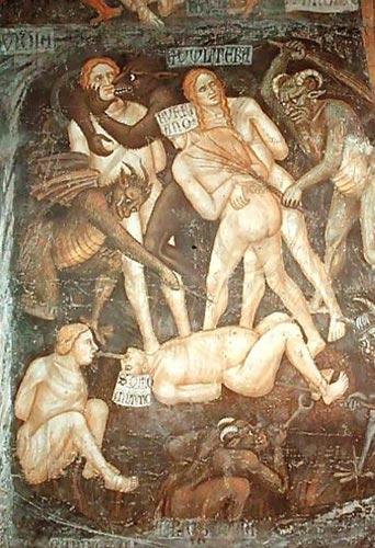 sex lastjudgementadulterers378 Taddeo di Bartolo adulterers and lustful