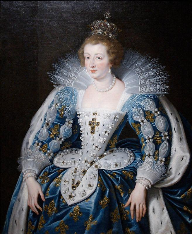 Ana Anna_of_Austria_by_Rubens_(1622-1625,_Norton_Simon_Museum)