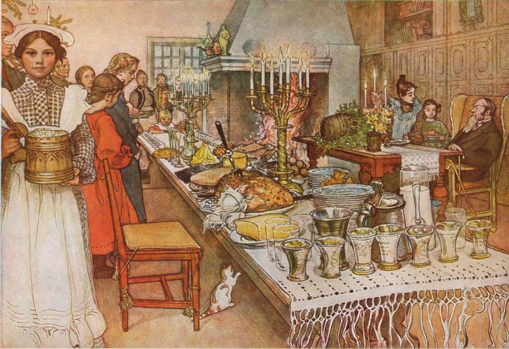 Carl Larsson: Christmas Eve