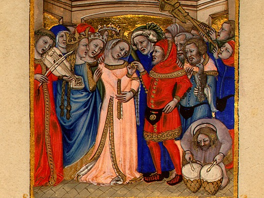 medieval marriage a0004359