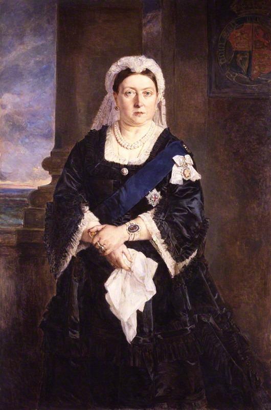 NPG 708; Queen Victoria by Lady Julia Abercromby, after  Heinrich von Angeli