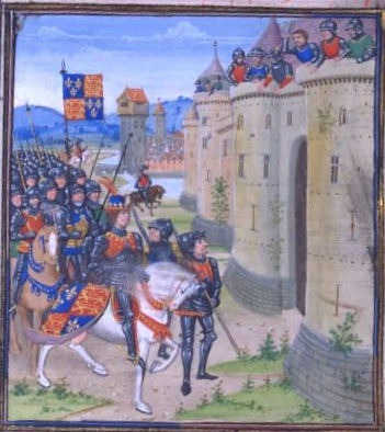 Edward III Siege of Berwick 1333