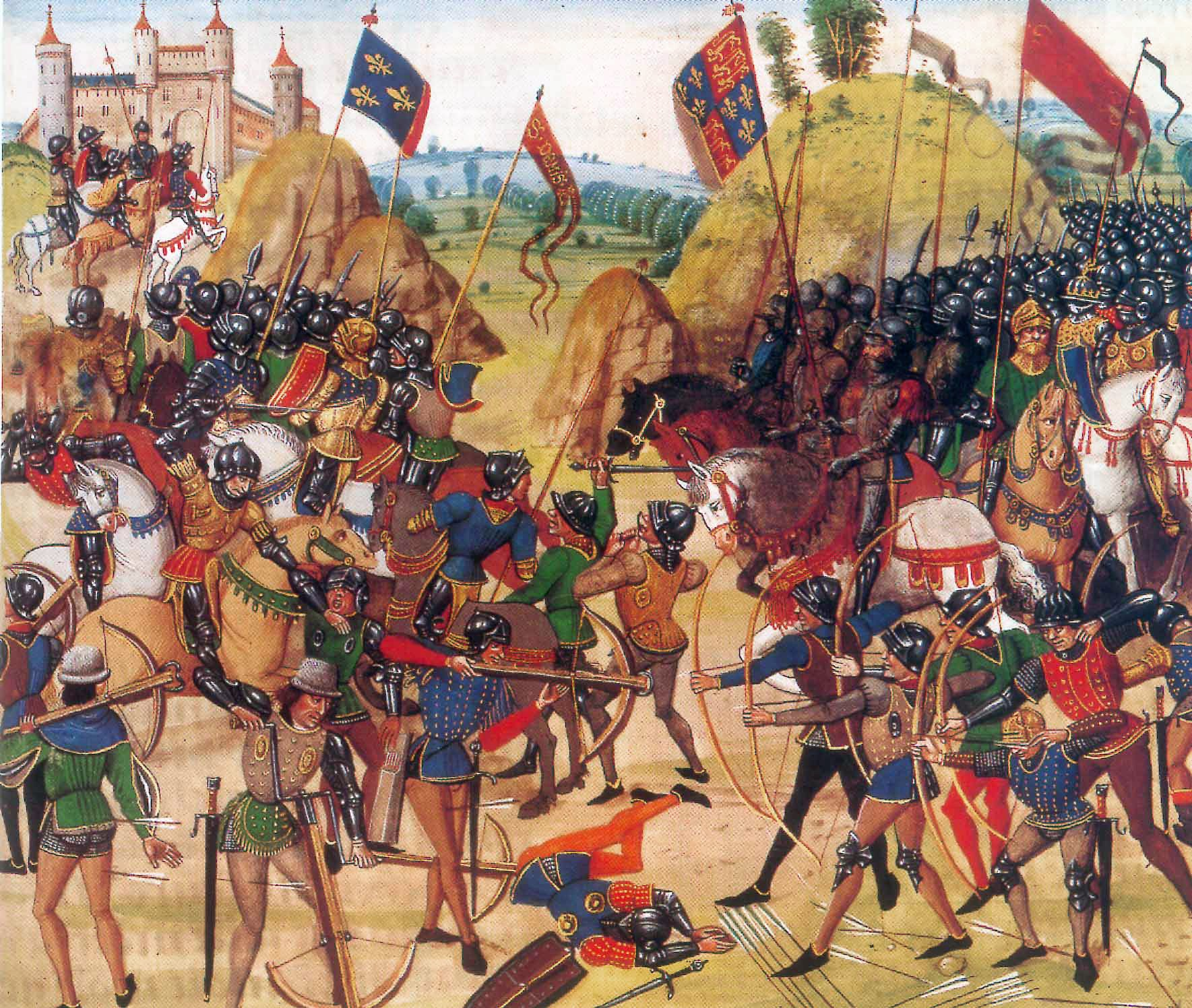 Arundel Battle_of_crecy_froissart