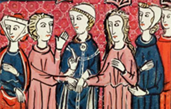 Arundel illustration of marriage