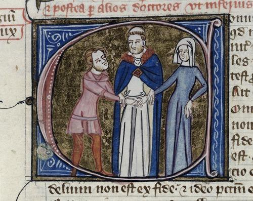 Royal 6.E.vi,  f. 375 detail