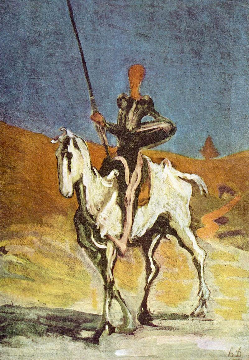 Miguel Honoré_Daumier_017_(Don_Quixote)