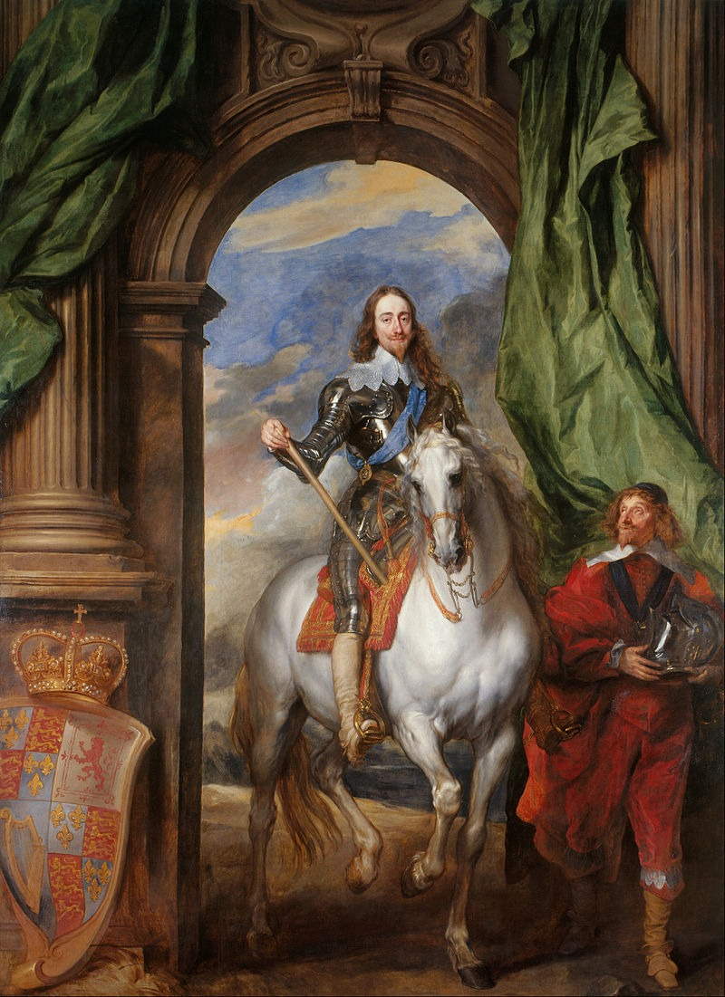Cromwell's head Anthony_van_Dyck_-_Charles_I_(1600-49)_with_M._de_St_Antoine_-_Google_Art_Project (1)