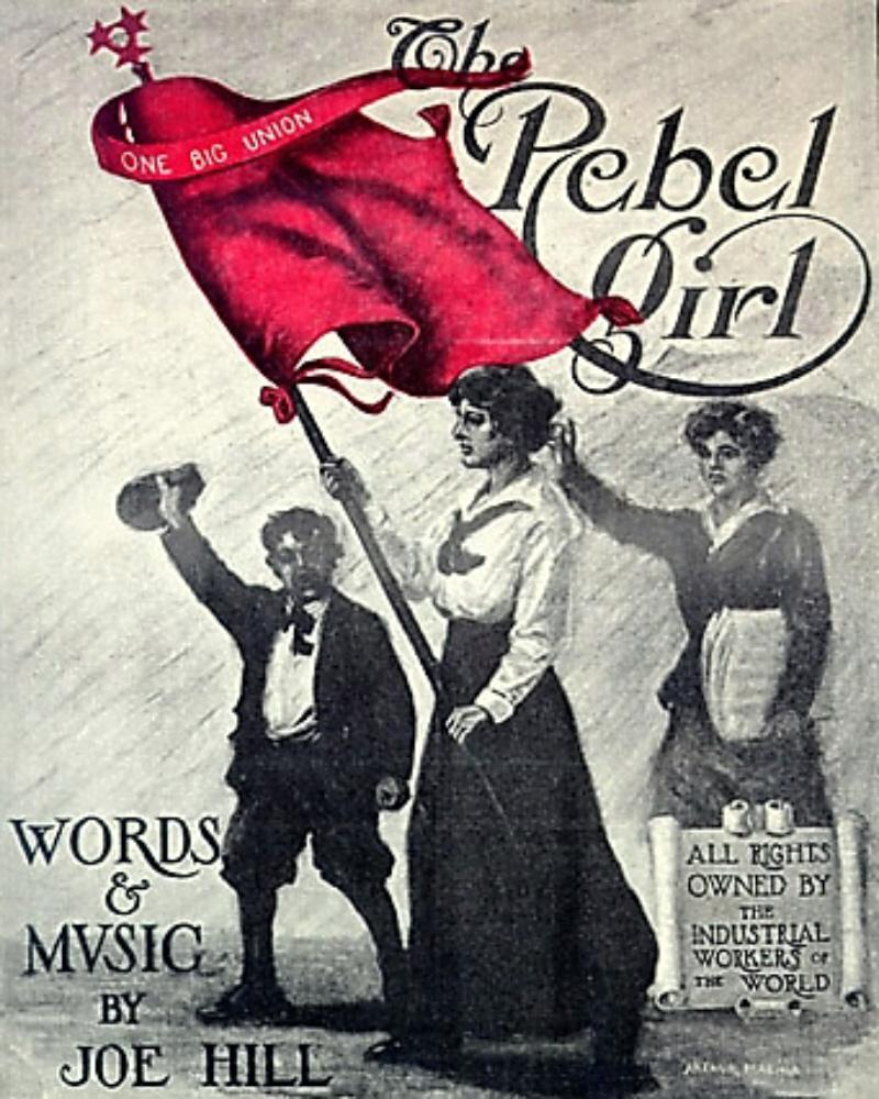 Joe Hill The_Rebel_Girl_cover