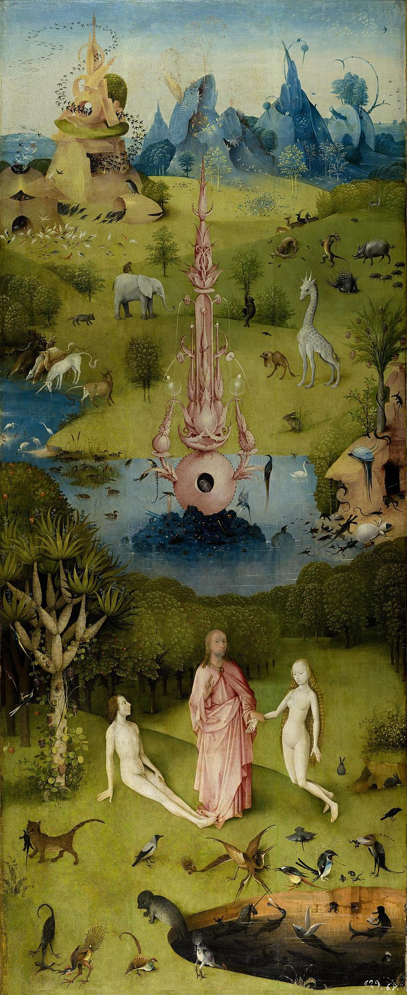 SLC Hieronymus_Bosch_-_The_Garden_of_Earthly_Delights_-_The_Earthly_Paradise_(Garden_of_Eden)
