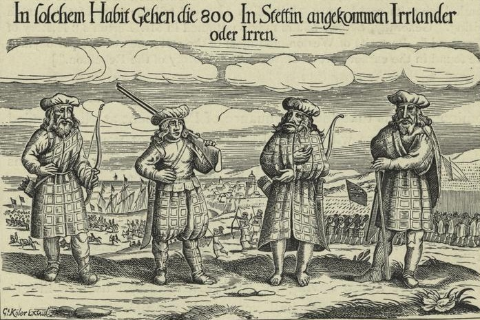 Urumchi Scottish_soldiers_in_service_of_Gustavus_Adolphus,_1631-cropped-