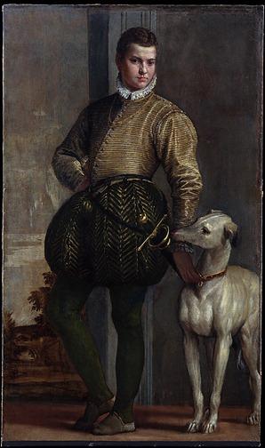 Dogs Boy w a dog Paolo Veronese