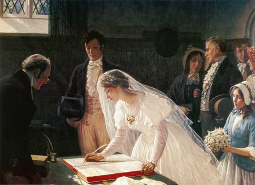 MG signing-the-register-by-edmund-leighton-blair