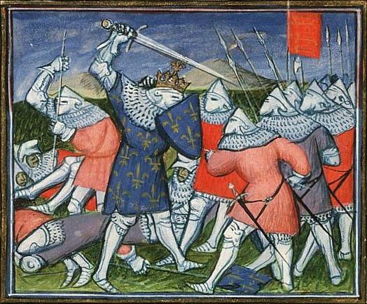 saints The_battle_of_Poitiers