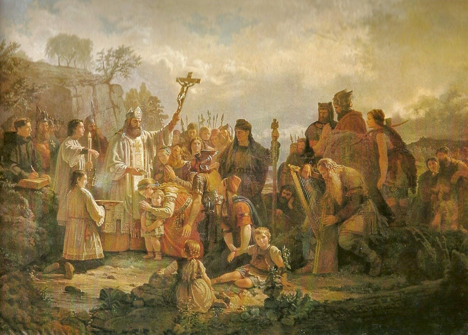 Sigfrid döper hedningar