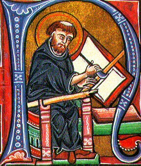 Sigfrid medieval_book-and-monk