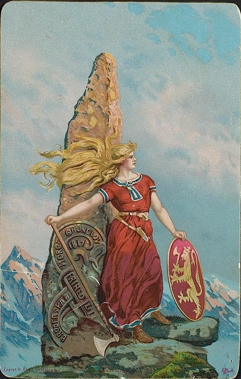 Sigfrid Norsk_Nasjonalisme_Vikingdyrking_1905