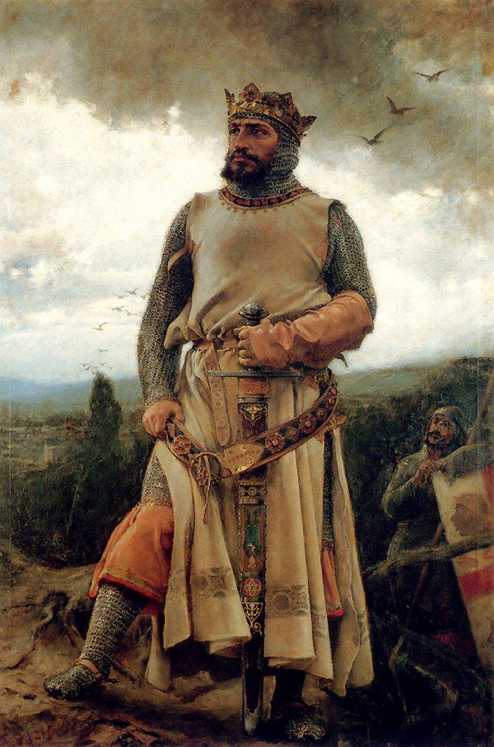 Urraca Alfonso_I_de_Aragón_por_Pradilla_(1879)