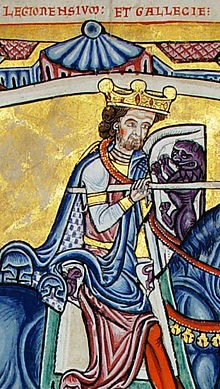Berengaria Adeffonsus,_king_of_Galicia_and_Leon_(detail)