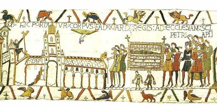 EHFA Westminster abbey BayeuxTapestryScene26