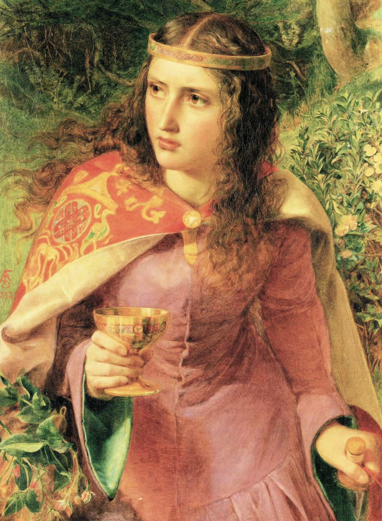 Matilda Anthony_Frederick_Sandys_-_Queen_Eleanor