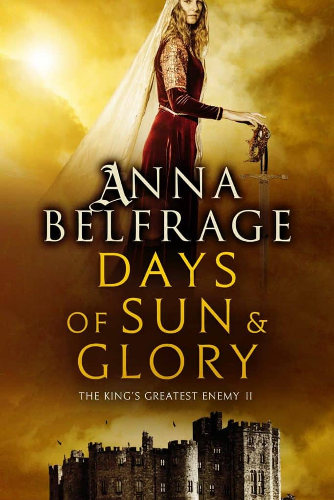 Days of Sun and Glory, by Anna Belfrage, cover