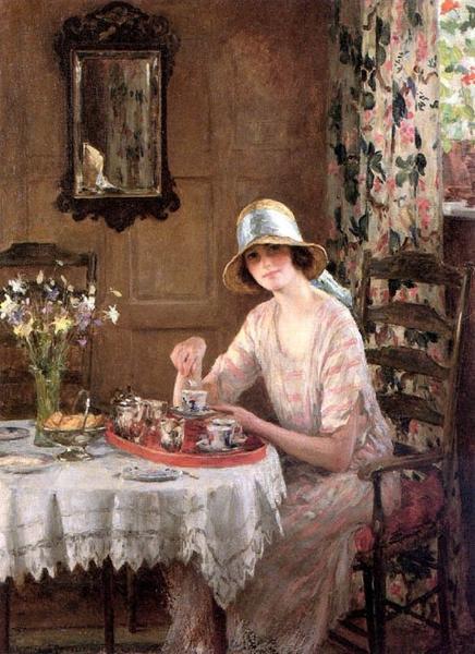 tea-william-henry-margetson-afternoon-tea